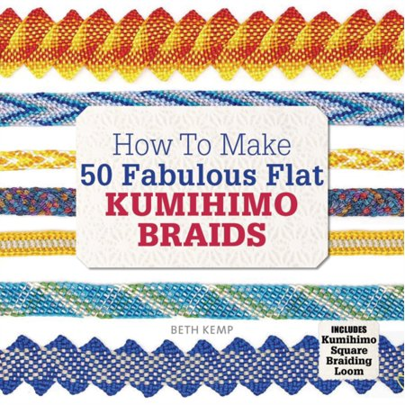 How to Make 50 Fabulous Flat Kumihimo Braids: A Beginner's Guide to Making Flat Braids for Beautiful Cord Jewellery and Fashion Accessori...](Idee Accessori Halloween)