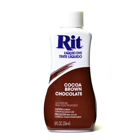 Dye 8 Oz Bottle (Dyes cocoa brown, liquid, 8 oz. bottle (pack of 4) )