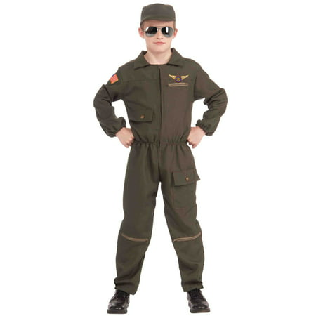 Cheap Pilot Costume (Fighter Jet Pilot Child)