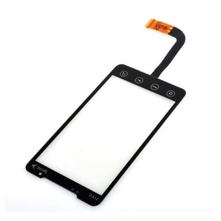 Touch Screen Digitizer Front Glass For Sprint Htc Evo 4G 4 G Evo 4G A9292 Supersonic   Repair Parts Replacement  Discontinued Front Internal Black Xc Nonretail    By Toogoo