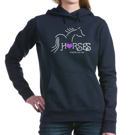 CafePress - Horses Brighten - Pullover Hoodie, Classic & Comfortable Hooded Sweatshirt