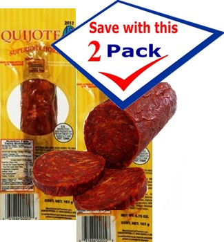 Quijote Chorizo Superior 5.75 oz. Pack of 2