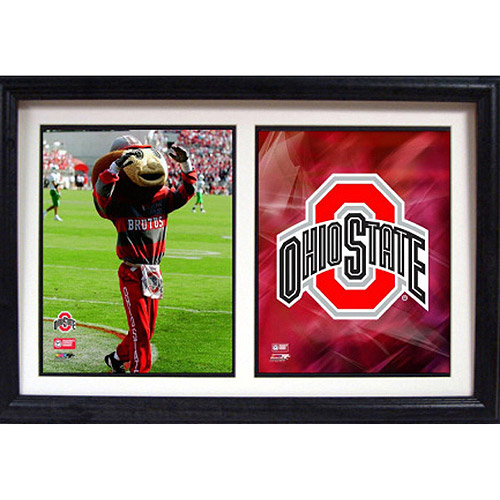 NCAA Ohio State Double Custom Frame, 12x18
