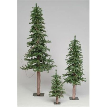3 ft. x 22 in. Alpine Tree with Pine Cones