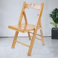 Folding Chair,Ymiko Children Bamboo Wooden Folding Chair Foldable Garden Camping Beach Picnic Stool
