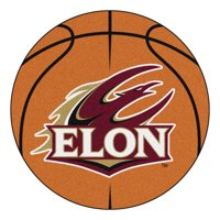 "Elon Basketball Mat 27"" diameter"
