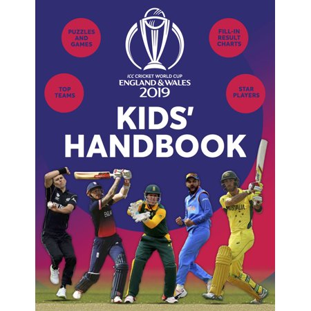 ICC CRICKET WORLD CUP 2019 KIDS HANDBOOK (Icc Cricket World Cup 2011 Final Match)