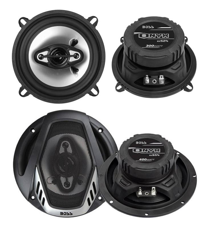 "Boss Audio NX524 Onyx 5.25"" 4-Way, Car Speaker (One Speaker)"