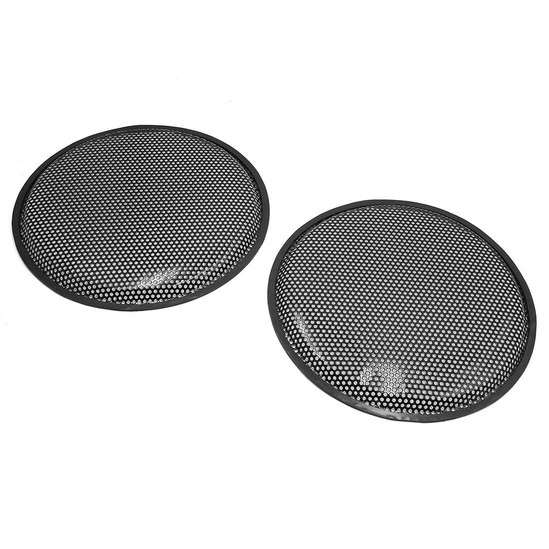 "2pcs 12"" Car Waffle Speaker Mesh Cover Subwoofer Protector Enclosure Grill Guard"