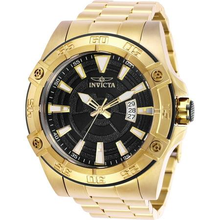Invicta Men's 27012 Pro Diver Automatic 3 Hand Black Dial Watch