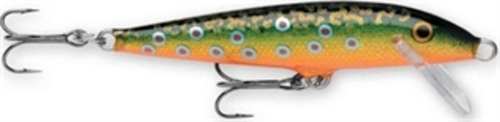 "F03BTR Rapala 1.5"" Original Floating 1 16 oz Brook Trout Fishing Lure by Rapala"