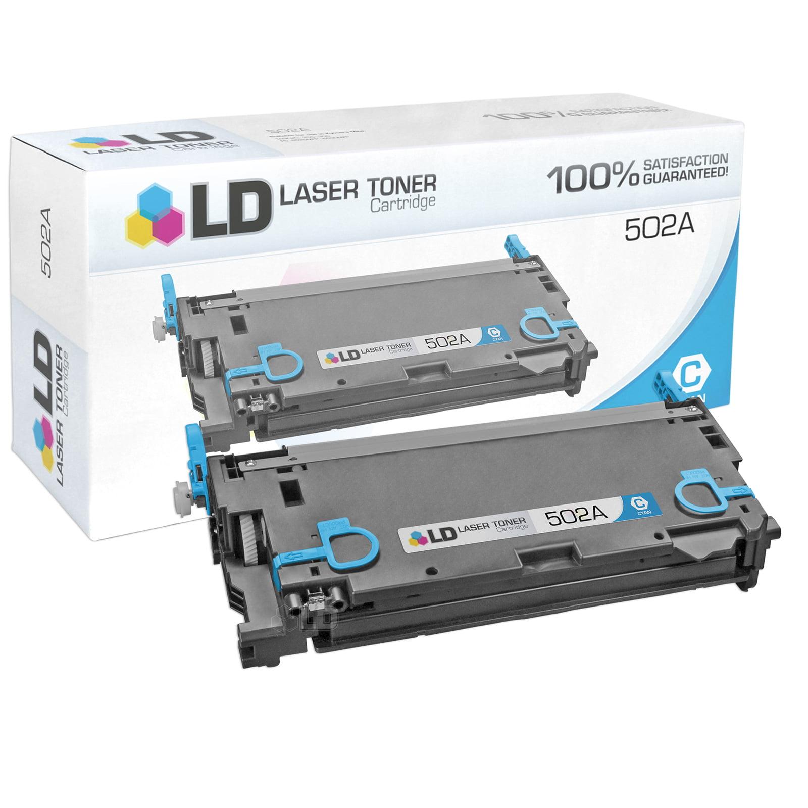 Remanufactured Cyan Laser Toner Cartridge for Hewlett Packard HP Q6471A / 502A