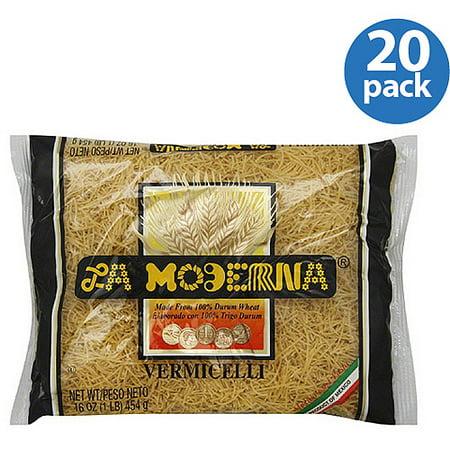 La Moderna Vermicelli Pasta  16 Oz   Pack Of 20