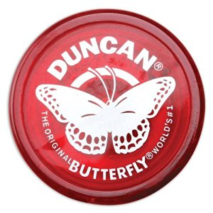 Duncan Yo-Yo Butterfly (Red)