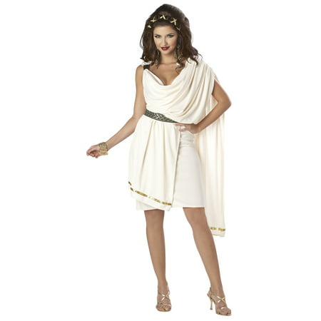 Womens Deluxe Classic Toga Adult Costume