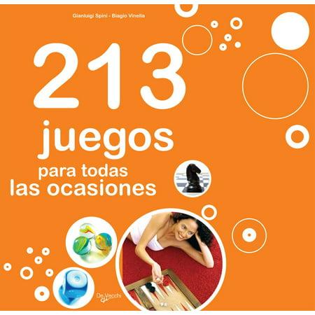213 juegos para todas las ocasiones - eBook - Juegos De Halloween Para Vestir