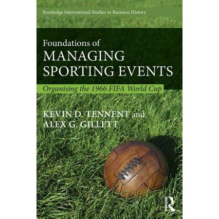 Foundations of Managing Sporting Events - - Cowbells For Sporting Events