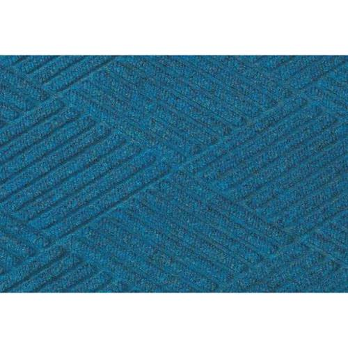 ANDERSEN 02210560046070 Waterhog Fashion(TM) Mat, Med Blue, 4x6 ft