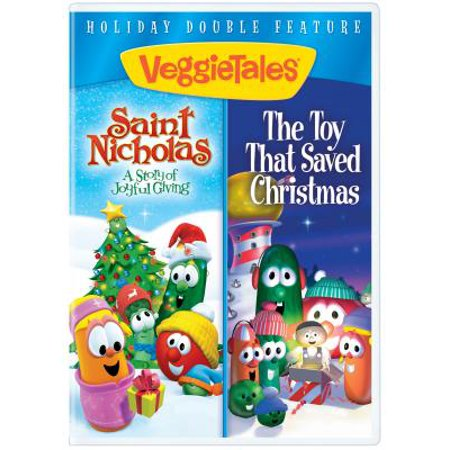 DVD-Veggie Tales: Saint Nicholas/Toy That Saved Christmas Double Feature