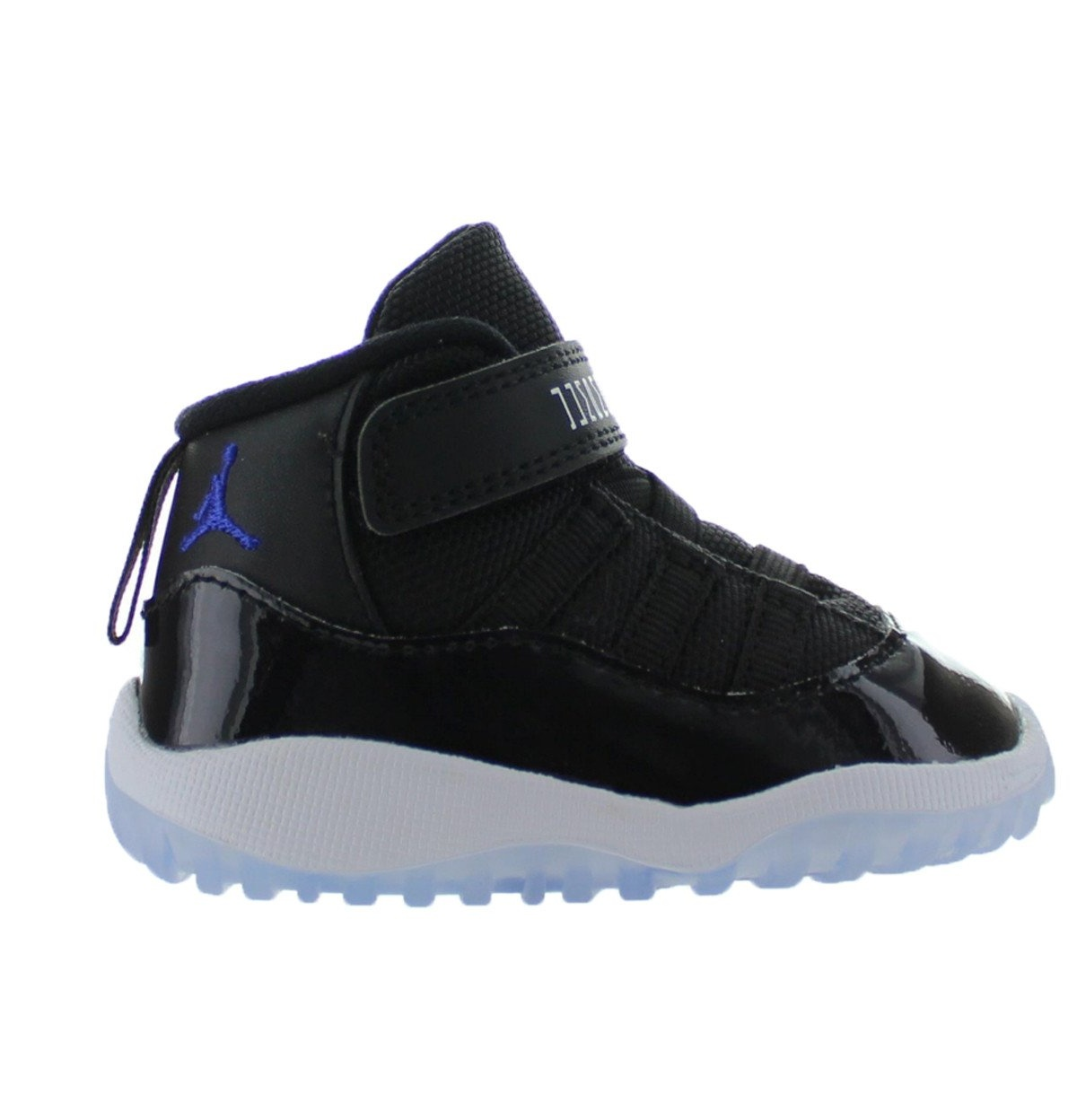 9dc63588fc74f0 ... free shipping kids air jordan 11 xi retro td toddler space jam black  dark conc cf5eb