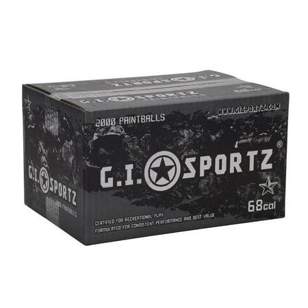 GI Sportz 1 Star Paintball Case 100 Rounds - Yellow Fill ()