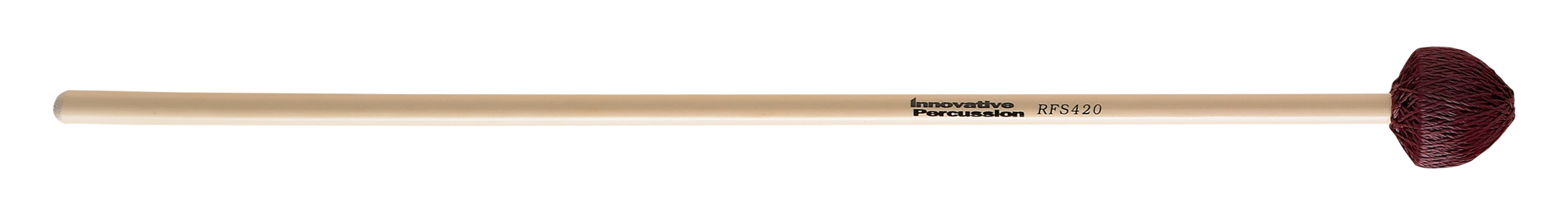 Innovative Percussion RFS420 Field Series Hard Vibraphone Mallets w  Rattan Handles by Innovative Percussion