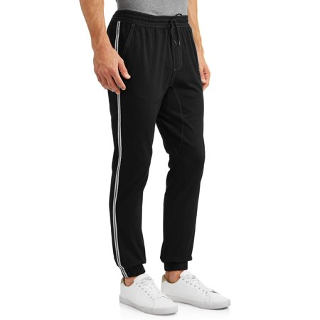 Men's Stretch Twill Jogger With Side Stripe - Twills Offers