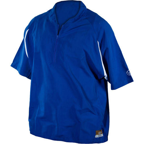 Louisville Slugger Adult Slugger Batting Cage Pullover with 1/4 Zip, Royal
