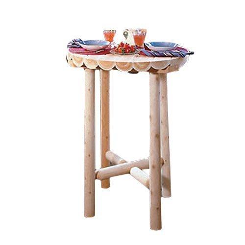 Rustic Natural Cedar Furniture Pub Table