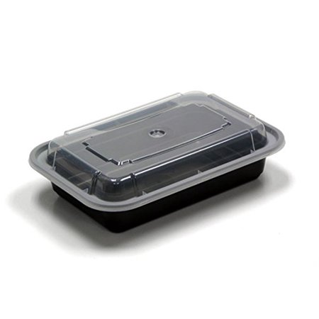 Green Direct Food Storage Containers With Lids Microwavable Meal Prep Portion Control Pack Of 10 16 Oz