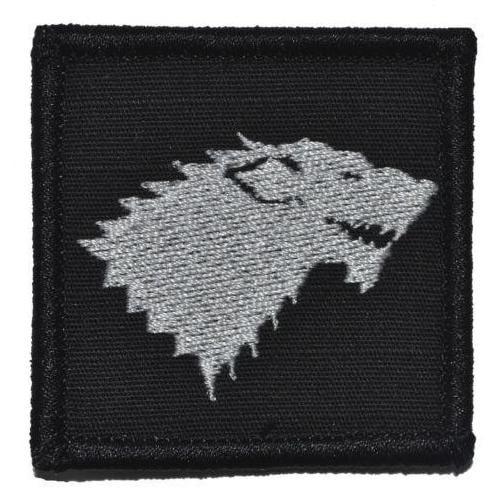 Stark Wolf Crest Game of Thrones - 2x2 Patch
