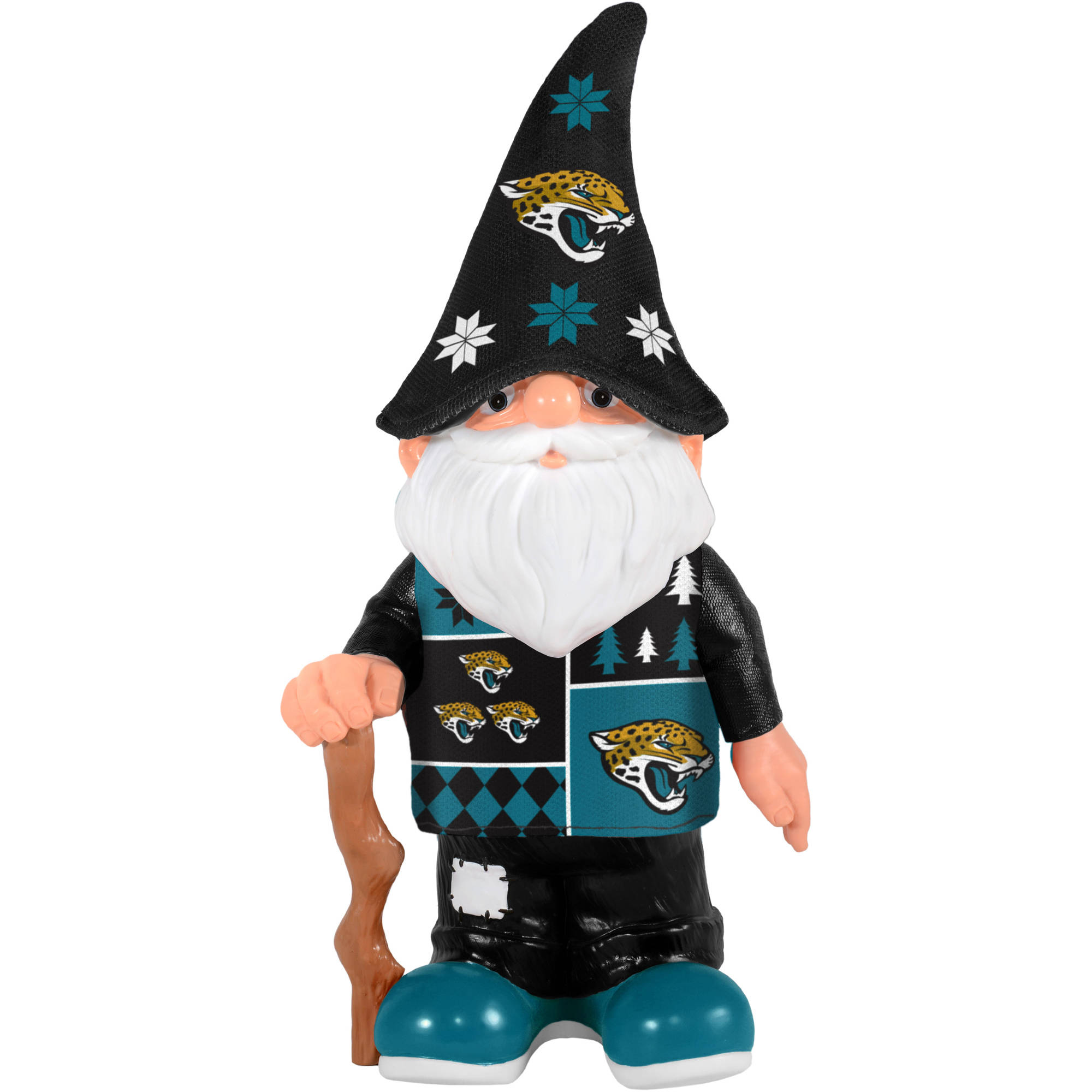 Forever Collectibles NFL Real Ugly Sweater Gnome, Jacksonville Jaguars