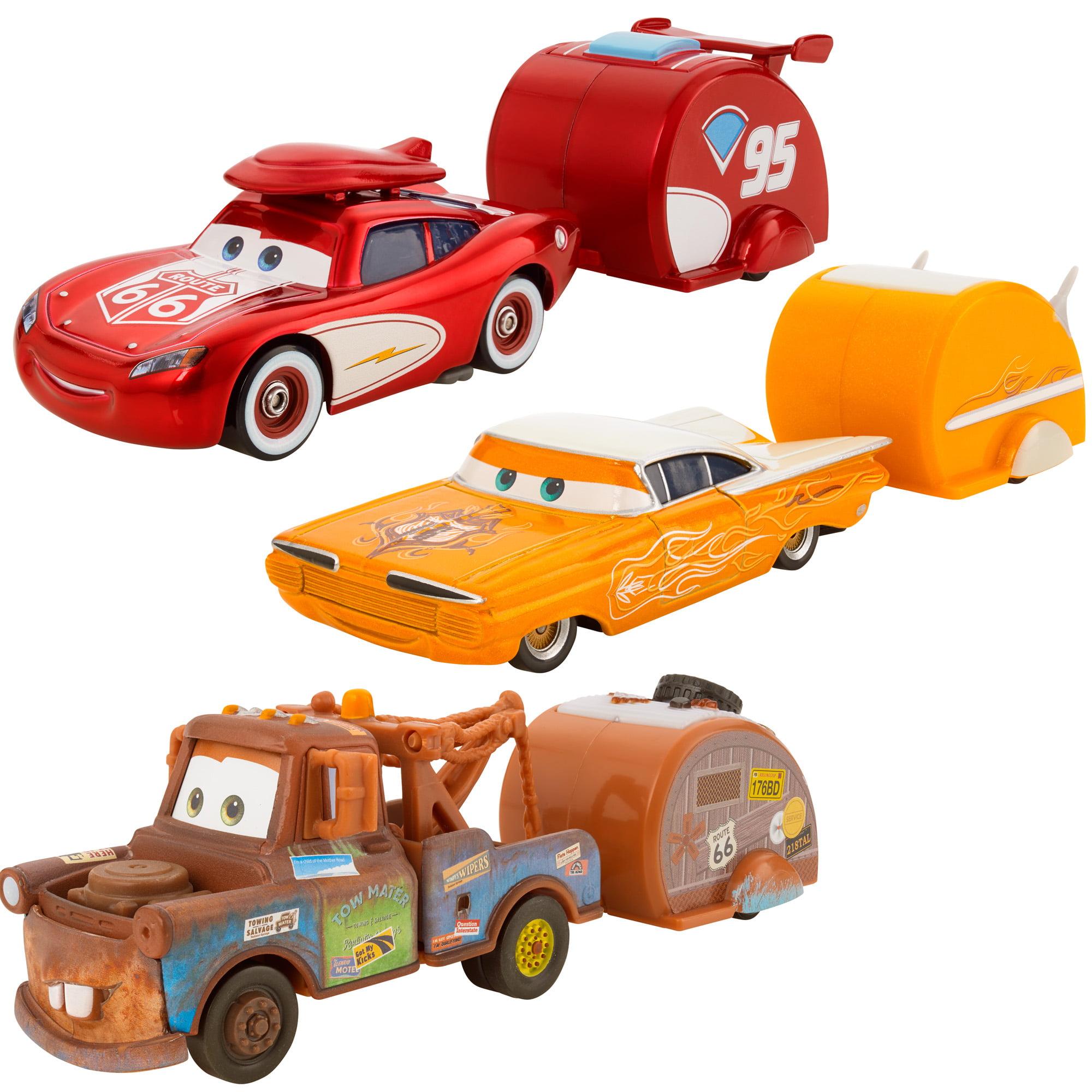 Disney/Pixar Cars RDTR1P Die-Cast Vehicle and Trailer Assortment ...