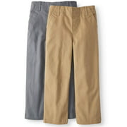 b4ed42a8dfc Solid Woven Chino Pants, 2-pack (Little Boys & Big Boys)