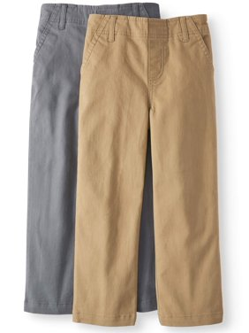 Product Image Solid Woven Chino Pants, 2-pack (Little Boys   Big Boys) 66dfb5de77