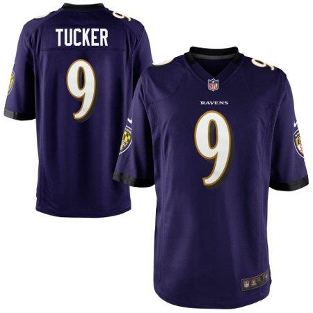 Justin Tucker Baltimore Ravens Nike Game Jersey - Purple (Tree Hill Ravens Jersey)