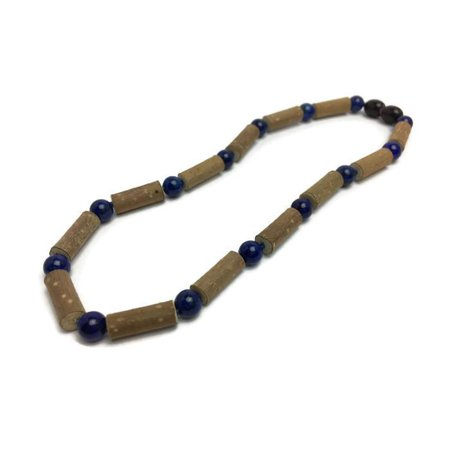 ADHD Acid Reflux 14 Hazelwood Eczema Lapis Lazuli anxiety Necklace