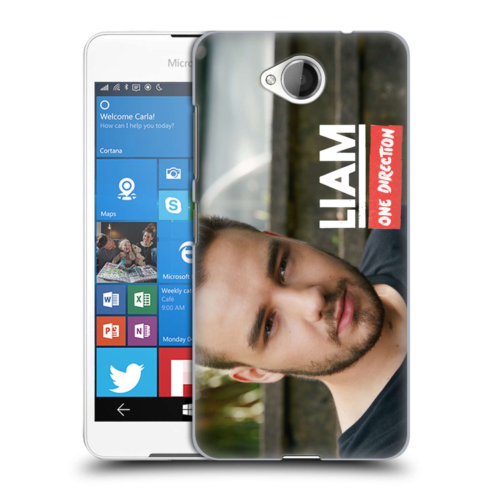 OFFICIAL ONE DIRECTION LIAM PAYNE PHOTO HARD BACK CASE FOR MICROSOFT PHONES