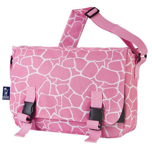 Wildkin Ashley Giraffe Jumpstart Messenger Bag
