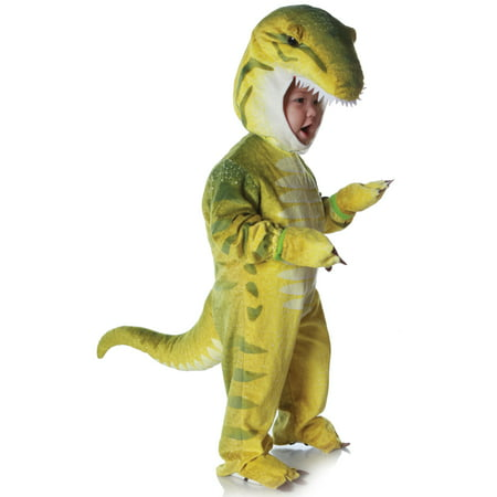 Child Green T-Rex Costume