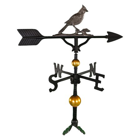 (Deluxe Swedish Iron Cardinal Weathervane - 32 in.)