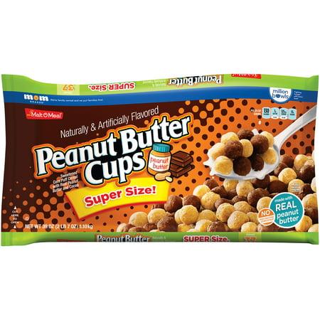 Malt O Meal Peanut Butter Cups Cereal  39 Oz