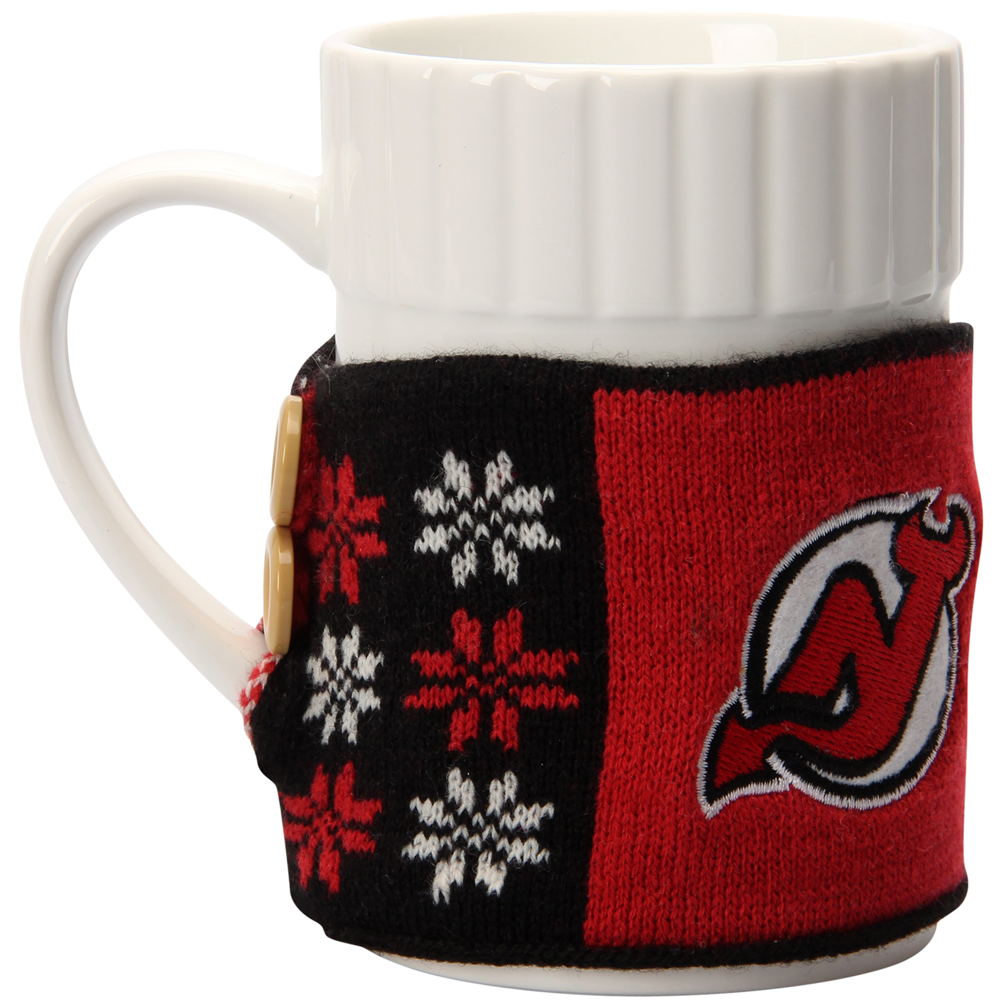 New Jersey Devils 2-Pack Sweater Mugs - No Size