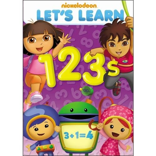 Nickelodeon: Let's Learn - 123s (Full Frame)