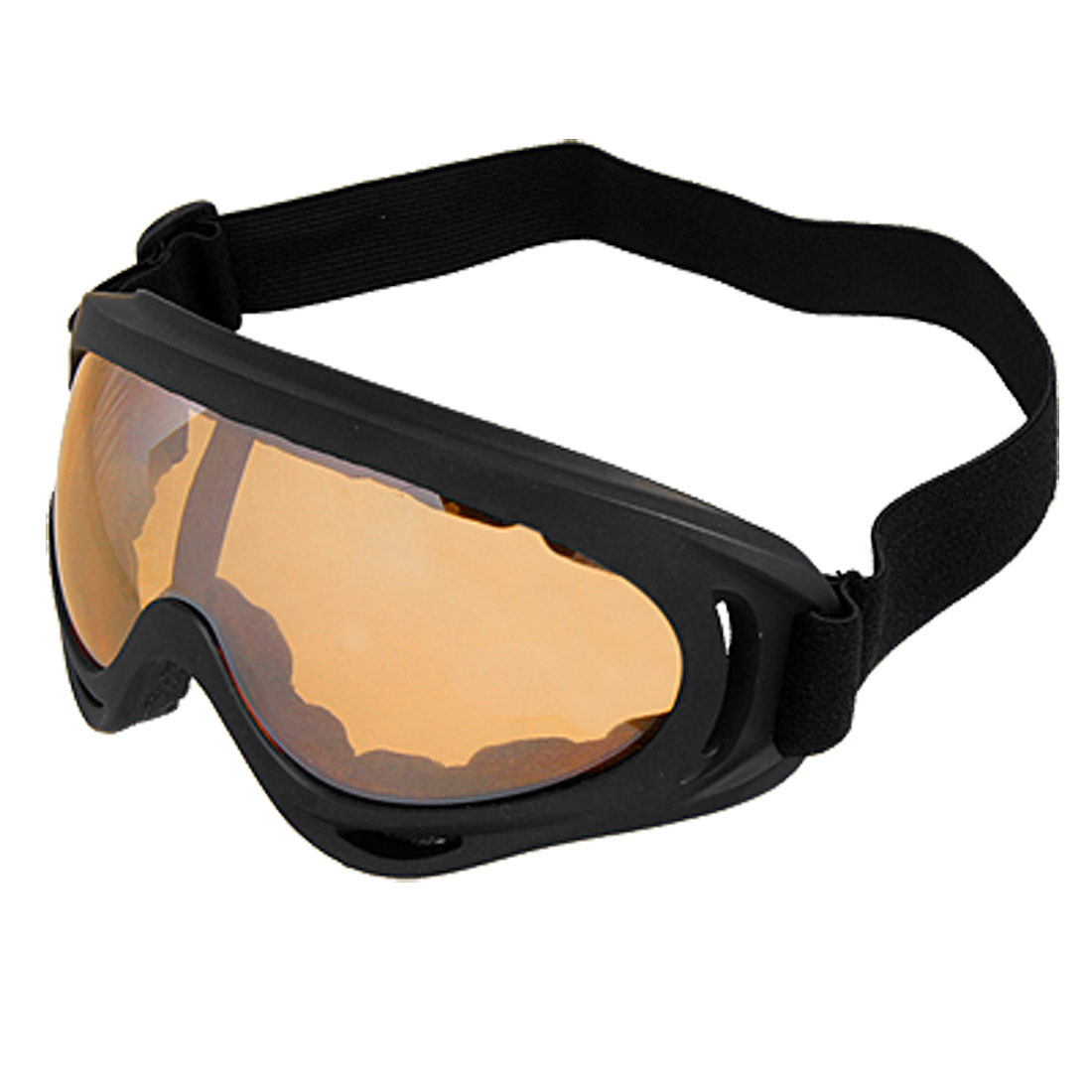Adjustable Strap Sponge Pad Skiing Glasses for Lady Man by