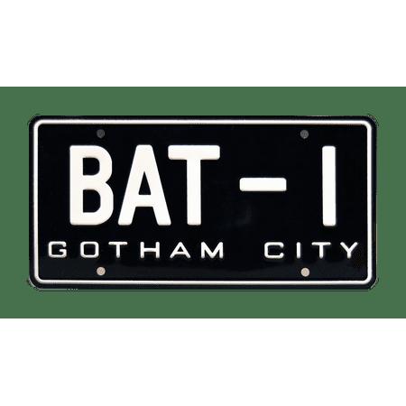 Batman | USA BAT-1 | Metal Stamped Vanity License Plate ()