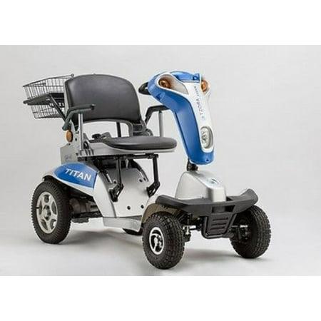 Legend Xl Scooter (Tzora - Hummer XL Folding Scooter - 4-wheel - Blue )