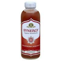 GT'S Synergy Organic Strawberry Serenity Kombucha, 16 Fl. Oz.