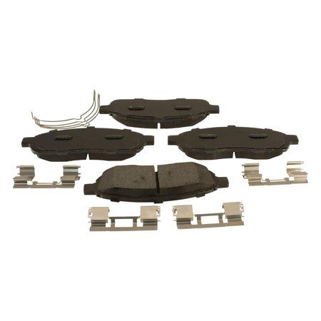 Motorcraft Standard Premium Brake Pad Set, Organic w/ Shims Honda Brake Pad Shim
