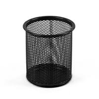 Design Ideas Pencil Cup, Black Metal Mesh